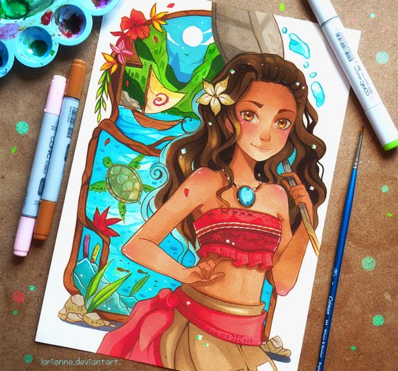+Moana+ by larienne on DeviantArt