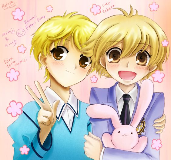 Momiji Sohma & Honey Senpai. I've always thought they looked a lot alike!! :D ♥