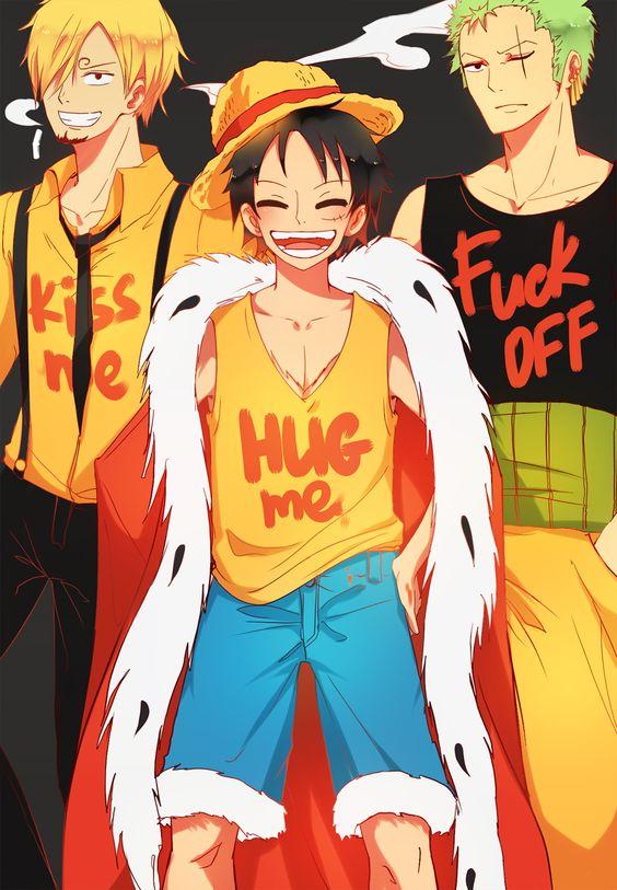 Monster Trio - Sanji, Luffy, and Zoro