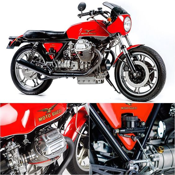 Moto Guzzi Le Mans Mk II – Kevin Rudham. (Via Pipeburn). #motoguzzi #motorcycle #caferacer #croig #motorsports #megadeluxe #tw