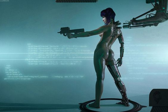 Motoko Kusanagi cosplay 2 by Adelhaid | Ghost in the Shell, Cyberpunk