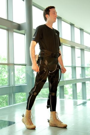 Motorized Pants to Help Soldiers and Stroke Victims.  A soft, lightweight exoskeleton developed at Harvard applies assistive force without interfering with a person's normal gait.