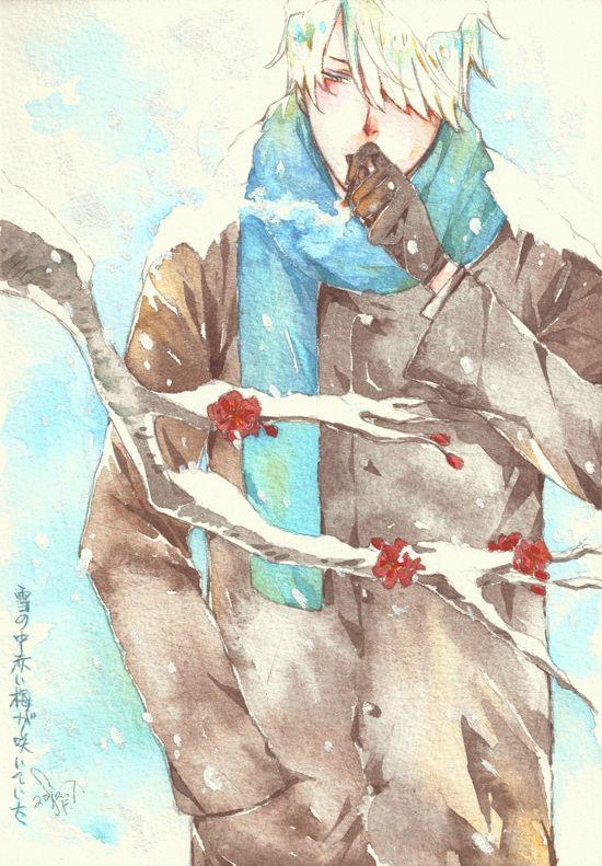 Mushi-shi by SF君 on Pixiv