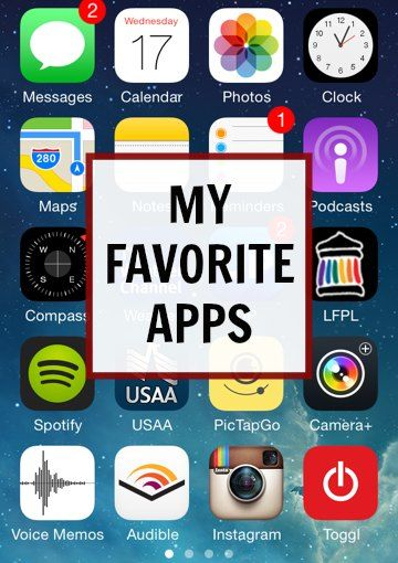 My favorite apps | Modern Mrs Darcy