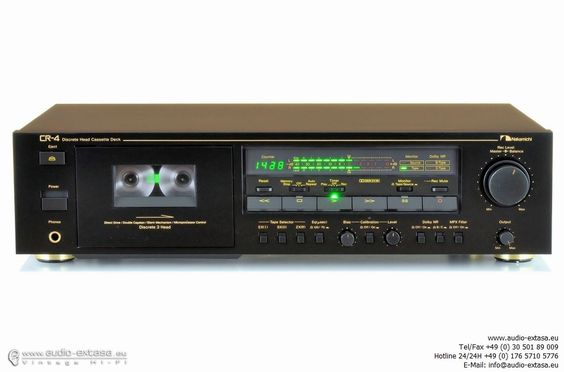 Nakamichi CR-4 Cassette Tape Deck