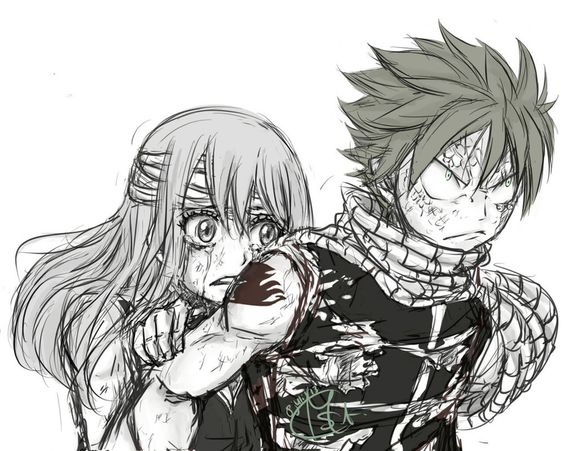 Nalu Week - Don't you dare touch her! by Chengggg on deviantART