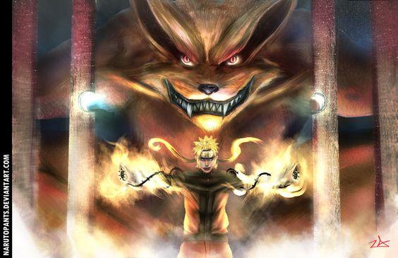 Naruto 570 - Kuramas Arrival by NarutoPants on DeviantArt