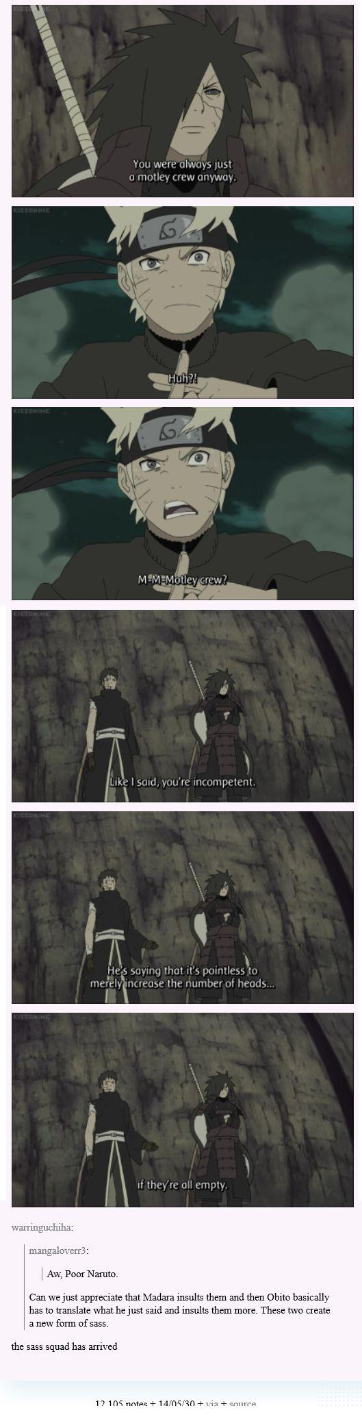 ♥ Naruto, Madara & Obito -