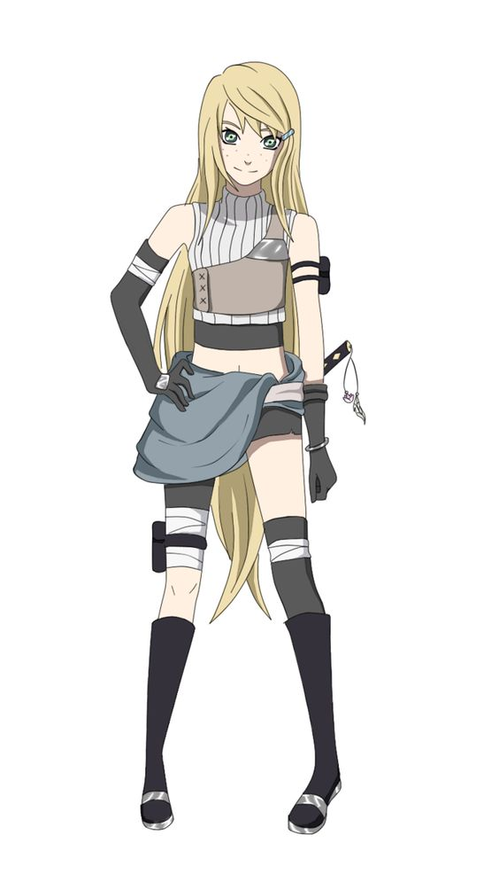naruto oc | Miuu for Naruto OC Collab by AkaiBlood
