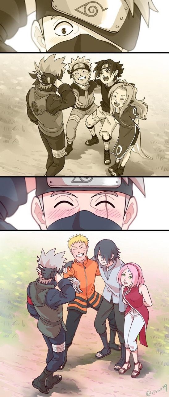 naruto, sasuke, sakura, kakashi