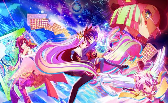 no game no life- is a really cool anime u should really watch it