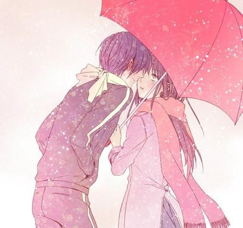 Noragami Yato x Hiyori i wish they KISSED!! D : Why'd you have to be so cruel Senpai's?!