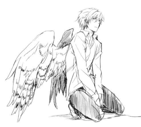 Oh hey, angle dude you looking pretty dang cute if I do say ♥