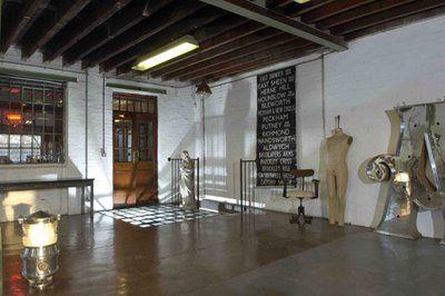 Old warehouse loft in London