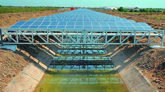 Once the execution of the canal-top solar power project begins, it will be ready for operation in about a year.