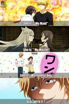 ookami shoujo to kuro ouji - Buscar con Google Why do I watch all of this romance