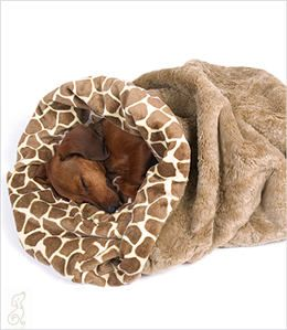 Perfect Dachshund blanket for Burrowing! Yep, a doxie thing!