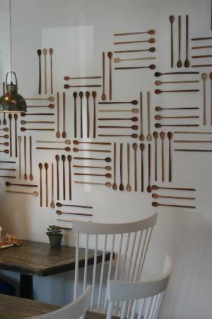 Persephone Bakery: Interior decor