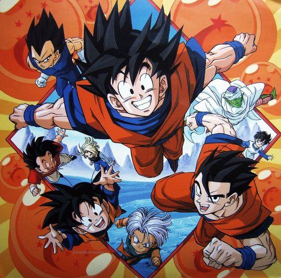 Piccolo Spirit — DRAGON BALL Z VINTAGE POSTER Source :