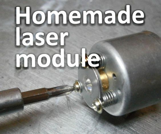 Picture of Homemade laser module