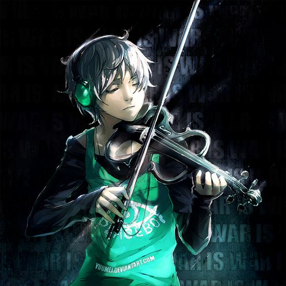 :playing violin: oh h-hello I'm Jason I I play music to escape reality w-would you like to join m-me