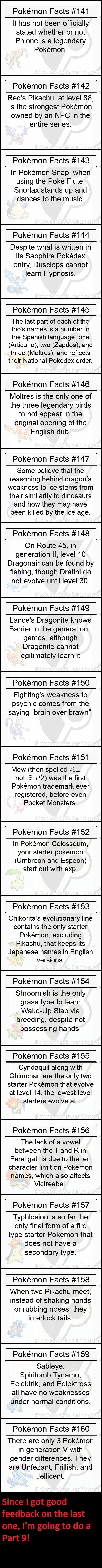 Pokemon Fact