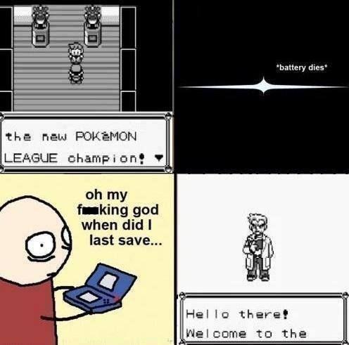 #Pokemon #Save when?