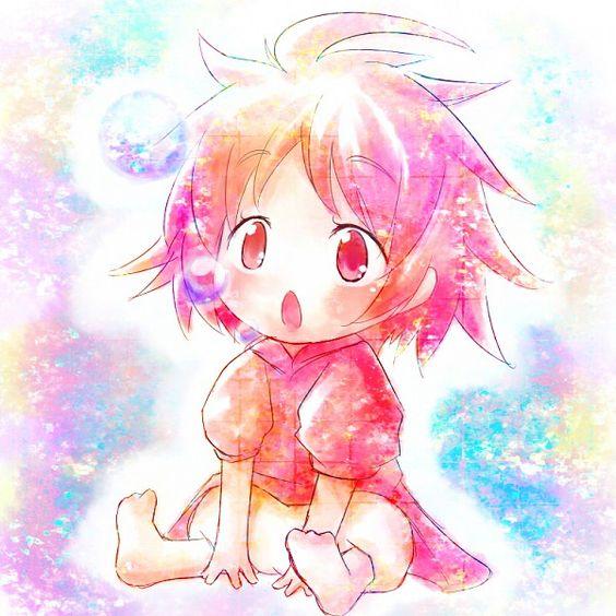 Ponyo. Kawaii!
