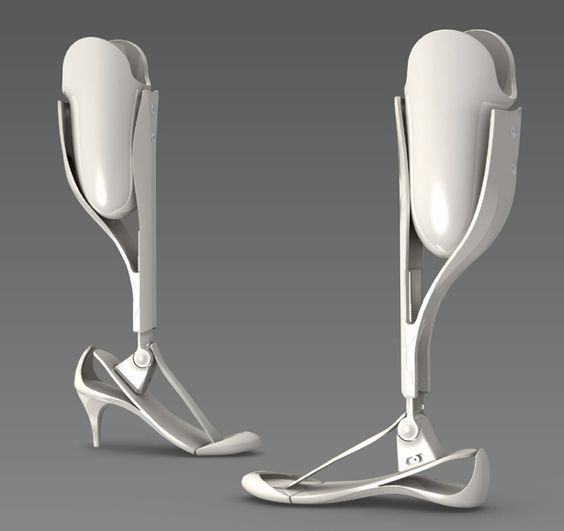 Prosthetic legs that are  and dare I say fashionable