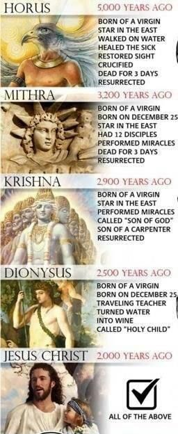 Proud pagan. We all worship the same God. Just with different names! Get educated! #paganism