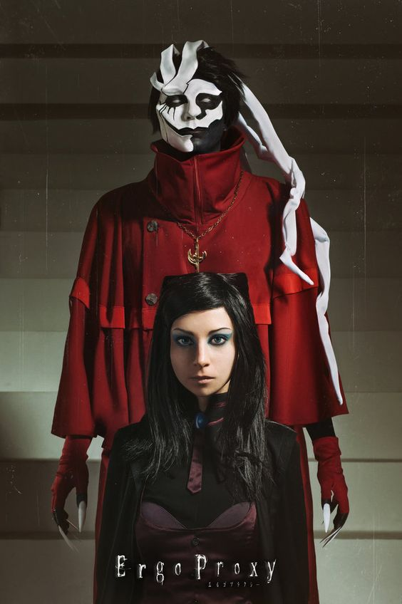 Re-l Mayer and Ergo Proxy by MiraMarta on DeviantArt