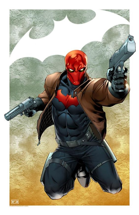 Red Hood by Mark S Miller. #batman #DC comics Pin and follow @Pyra2elcapo