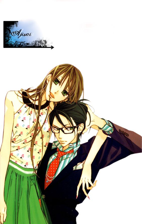 Render Animes et Manga - Renders hana ni arashi ran tachibana riko couple garcon lunettes
