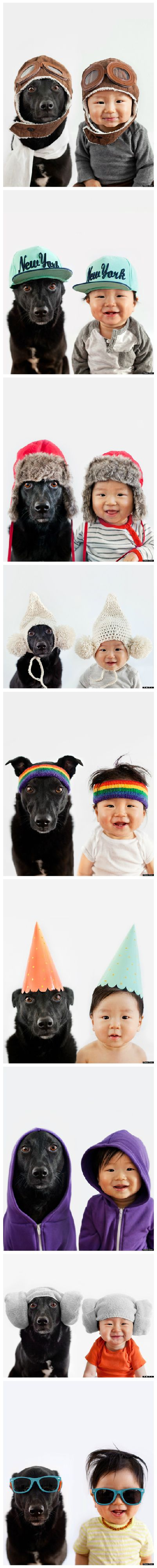 Rescue Dog And Baby BFF Are Partners In Crime AND Fashion