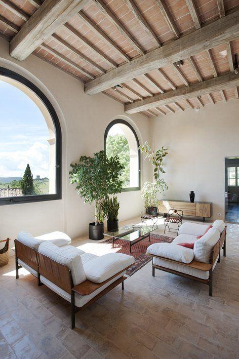 Ristrutturazione di Villa colonica del'400 , Monteriggioni, 2016 - CMT architetti