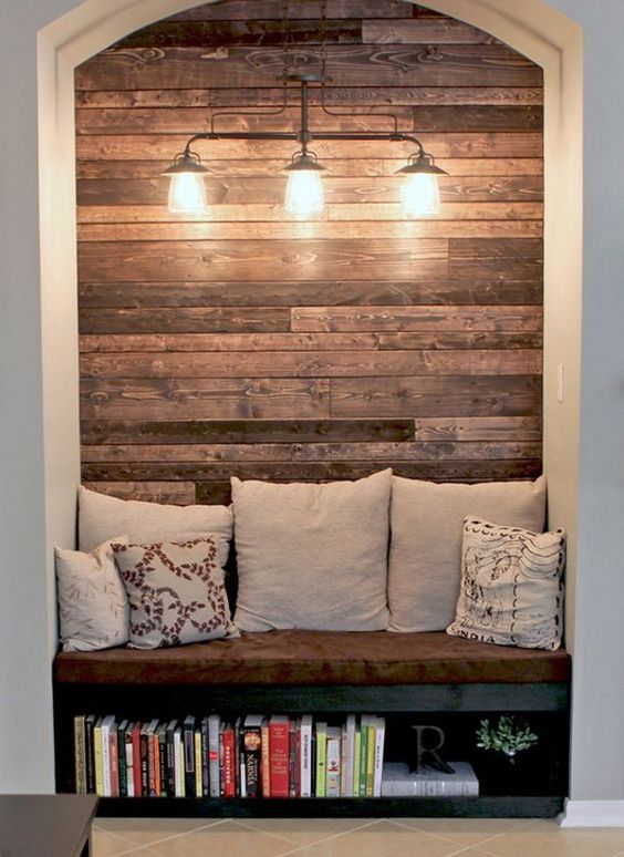 Rustic style may be more suitable for getaway cabin decor but little rustic accents sprinkled throughout your home works with any style. Handcrafted accents have even a bigger appeal because you
