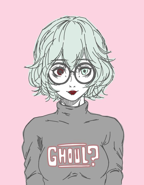 "ryuko: "" owl ft. glasses and a haircut """