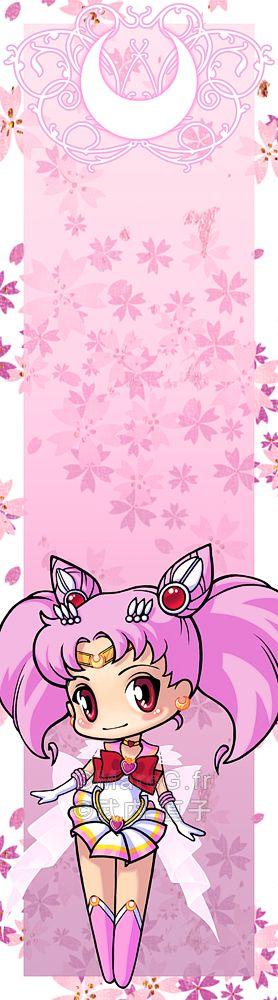 Sailor Chibi Moon bookmark by *Marc-G on deviantART