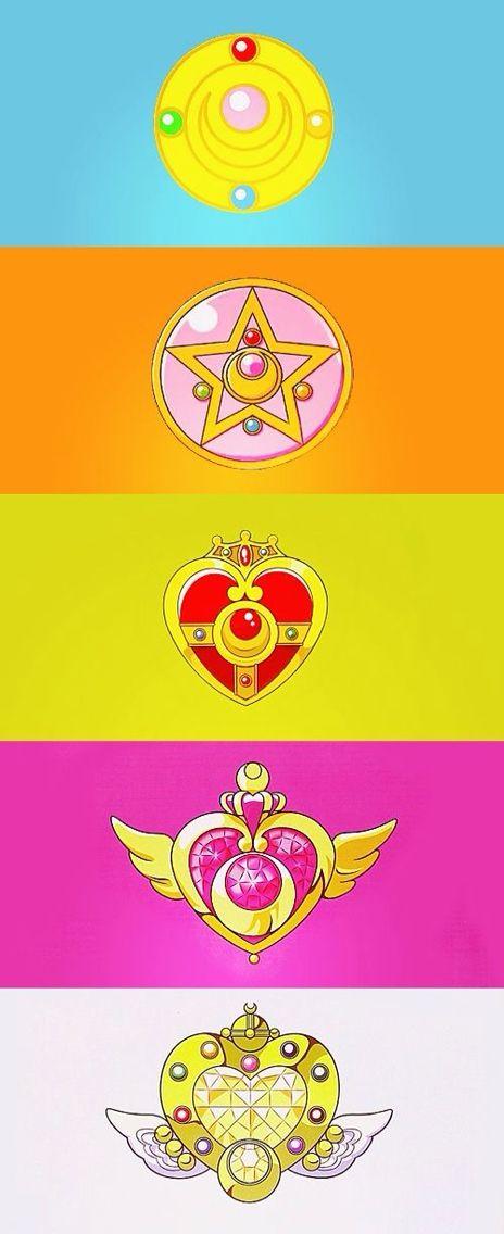 Sailor Moon brooches