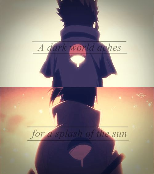 Sasuke quote #sasuke #quote