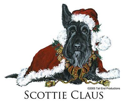 Scottie Claus Scottish Terrier