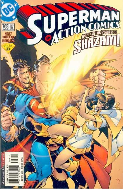 Shazam - Superman - Superboy - Against The Power Of Shazam - Female Antagonist - Duncan Rouleau