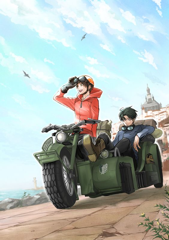 Shingeki no Kyojin, Eren Jaeger, Levi