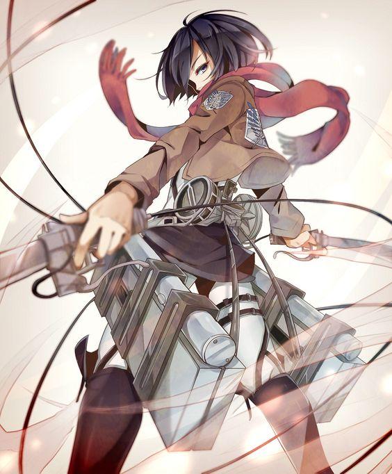 Shingeki no Kyojin: Mikasa Ackerman - Attack On Titan #anime