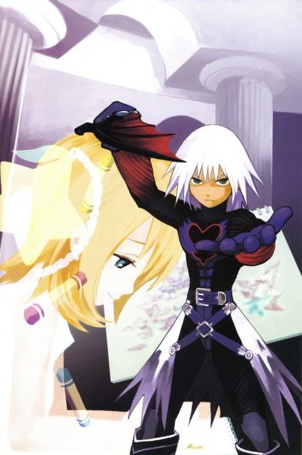 Shiro Amano, Art Works Kingdom Hearts, Kingdom Hearts, Naminé, Riku