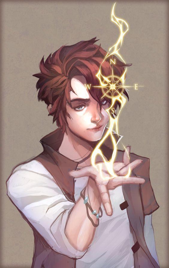 Sketch drawing boy magic