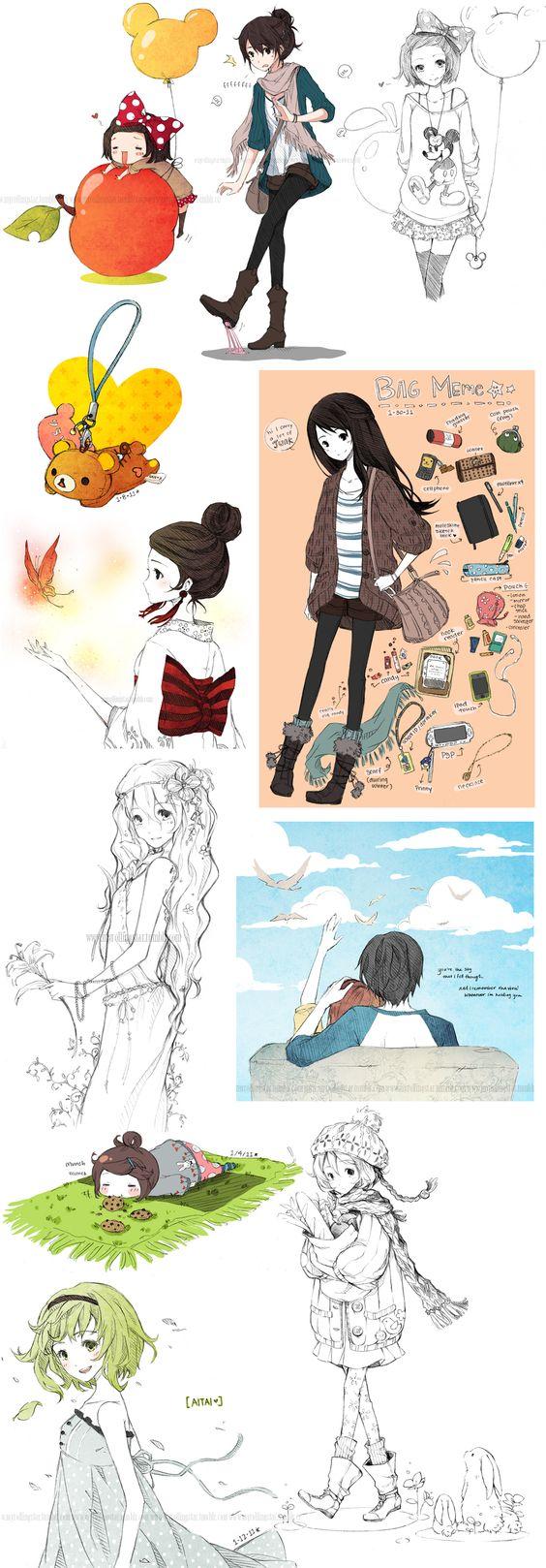 SKETCH DUMP 03  by *cartoongirl7