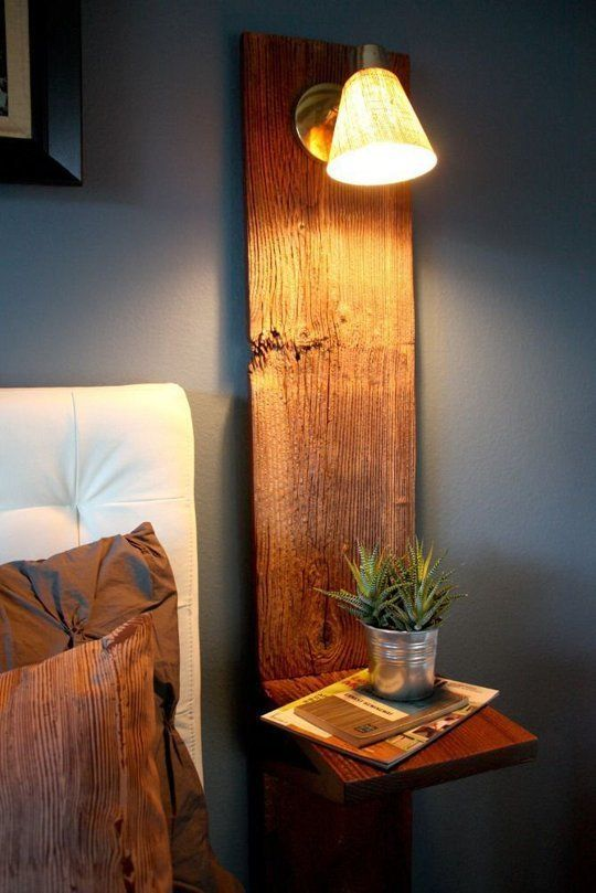 Small Space Solutions: 9 Space-Saving Nightstand Ideas   Apartment Therapy