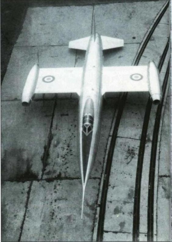 SNCASO  Trident, 1953, mixed power (jet, rocket) French interceptor aircraft