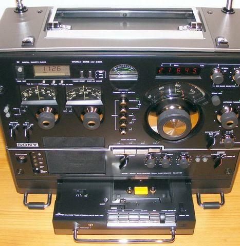 SONY Worldzone CRF 330K